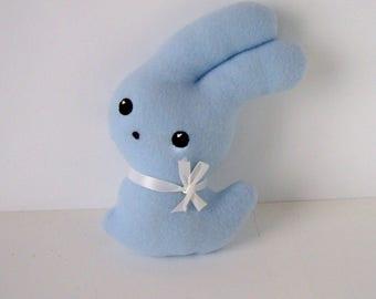 Hunnie Bunnie Blue Bunny Rabbit for Toddlers
