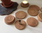 Cone Incense Burner/Tea Light Holder