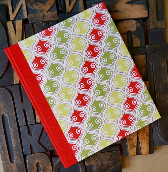 Photo Album - Large with Red and Green