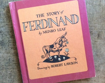1964 The Story of Ferdinand by Munro Leaf