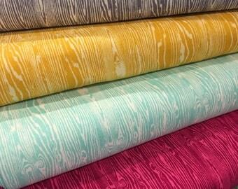 True Colors - By Joel Dewberry - Wood Grain - Half Ysrd Set - 4 Prints - 19.50 Dollars