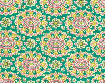 Eternal Sunshine - Cloisoinne-Fieamy - By Amy Butler - Field (AB162) - 1 Yard - 7.95 Dollars