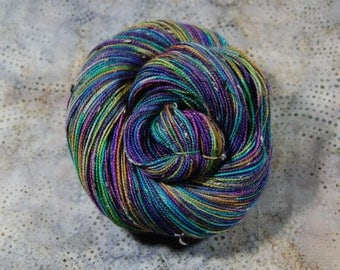Bits and Bobs Tweed yarn - The Big O   (superwash sock weight) 438 yards 100 grams