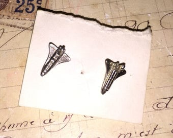 Vintage Airplane Earrings