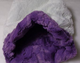 "Snuggle Sack, Pouch for Hamster, Sugar Glider, Mice, Rat, Guinea Pig and Hedgehog - 9""x9"""