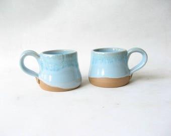 Espresso Cups, Demitasse, Set of 2 Espresso Cups