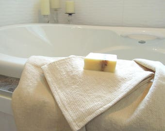 Pure Hemp Hand Towels, Organic Towel, Guest Towel, Bathroom, Luxury. Spa