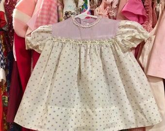 Polka Dot Dress 6/9 Months