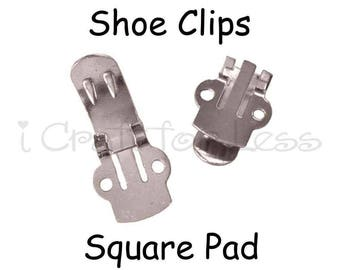 Shoe Clips Blanks - 2 (1 pair) - SEE COUPON