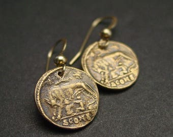 Remus and Romulus - Earrings