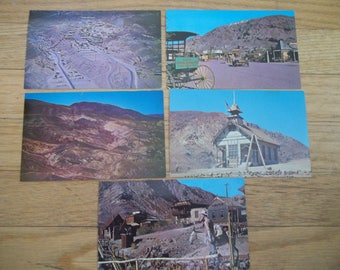 Vintage Calico Ghost Town Postcards ~ Ghost Town Postcard ~ Vintage Travel Souvenir ~ Mining Town  Postcard