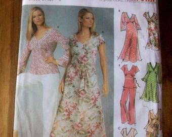 Simplicity 5193 Design Your  Own dress,  top and pants sewing pattern