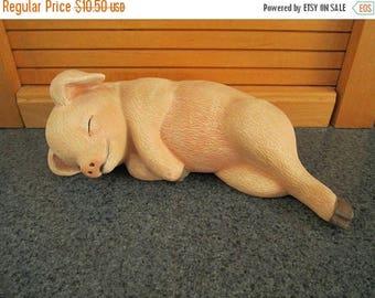 SALE 60% OFF Sleeping Piglet