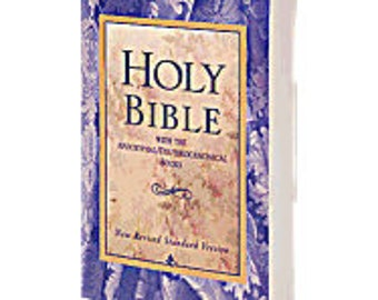 Holy Bible with Deuterocanonical Books-NRSV
