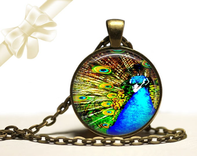 Peacock Necklace brass Pendant Necklace Free Shipping Gifts for her