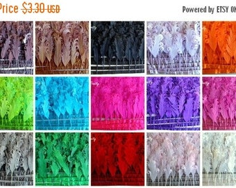 20% OFF EXP 06/30 10 PCS Loose Curly Nagorie Feathers- pick Color for One