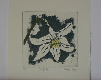 Daffodil, Original Print