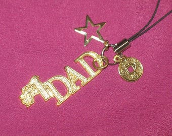 Good Luck and Long Life Dad Amulet Omamori Charm