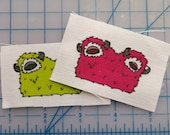 Mini Two-Headed Monster Patches