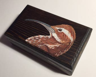 Scimitar-billed Woodcreeper Keepsake Box