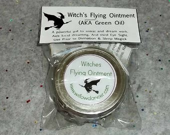 Witches Flying Ointment ...aka...Green Oil...1/4 Ounce
