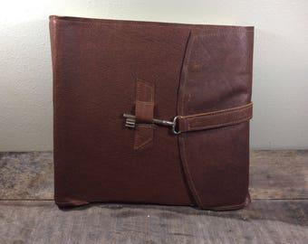 Extra Large Heirloom Leather Photo Album 12 x 12