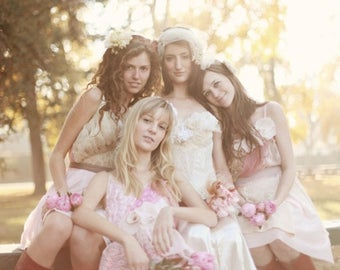 Individual Deposits for Leah Noblitt's Custom Bridesmaids Dresses
