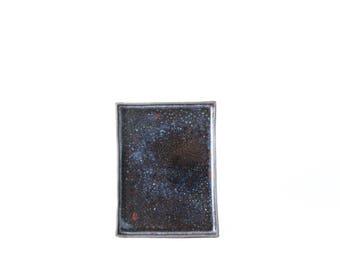 rectangular ceramic plate