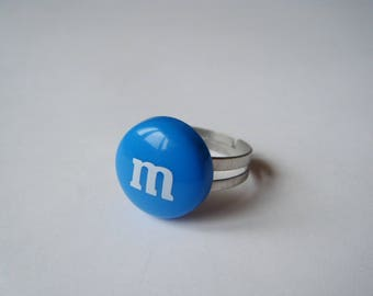 ♥ ♥ M ring & me dark blue s ♥