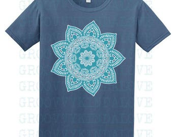 Mandala Design Instant Download for Electronic Cutters silhouette cricut vinyl digital decal hippie boho chic t shirt heat transfer