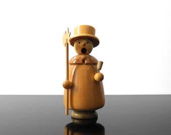 Little Incense Smoker / Pipe man / Erzgebirge / Germany / Vintage