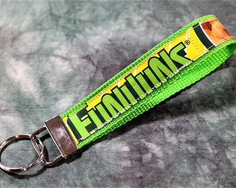 Wristlet Key Chain from Recycled Funyuns Onion Flavored Rings Bags