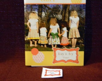 Uncut Izzy & Ivy Pattern for the Addie Jo Skirt For Girls