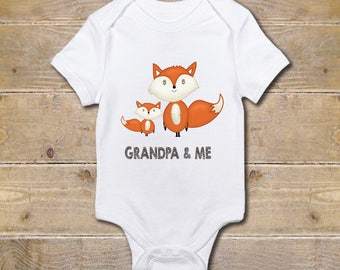 Grandpa Onesie, Grandfather Onesie, Grandpa's Boy, Gift from Grandpa, Grandpa Baby Clothes, Baby Shower Gift, Poppy