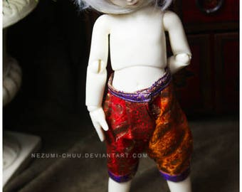 ABJD TG LTF and YoSD rainbow vintage fabric Dhoti style pants