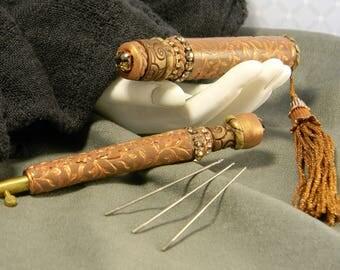 Chocolat Artisan Tambour Embroidery Tool Set