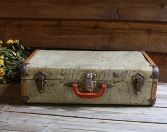 Metal suitcase | Etsy