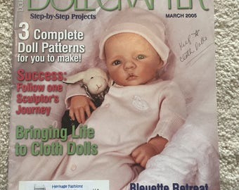 Doll Crafter magazine; March 2005 issue