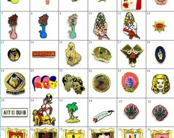 Pick 3, 5, or 7 Lapel pins