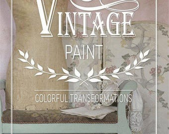 Chalk Paint How To - Beautiful Book Colorful Transformations