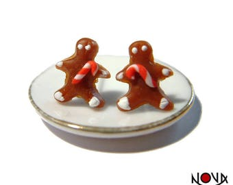 * Chips * Christmas gingerbread man