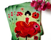 30% Off - Summer SALE Anemone - Postcard