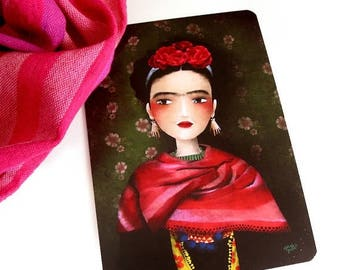 30% Off - Summer SALE Frida - Postcard