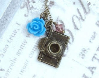 Gift For Photographer Camera Necklace Photography Necklace Camera Gift Photographer Necklace Camera Jewelry