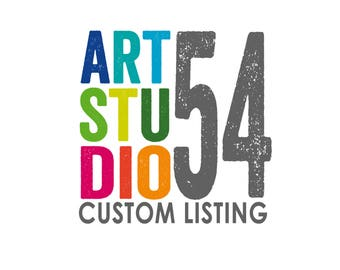 Custom Listing - Vinyl Sticker Decal-artstudio54