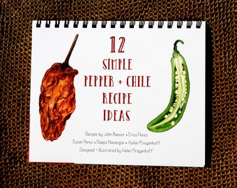 12 Simple Pepper + Chile Recipe Ideas