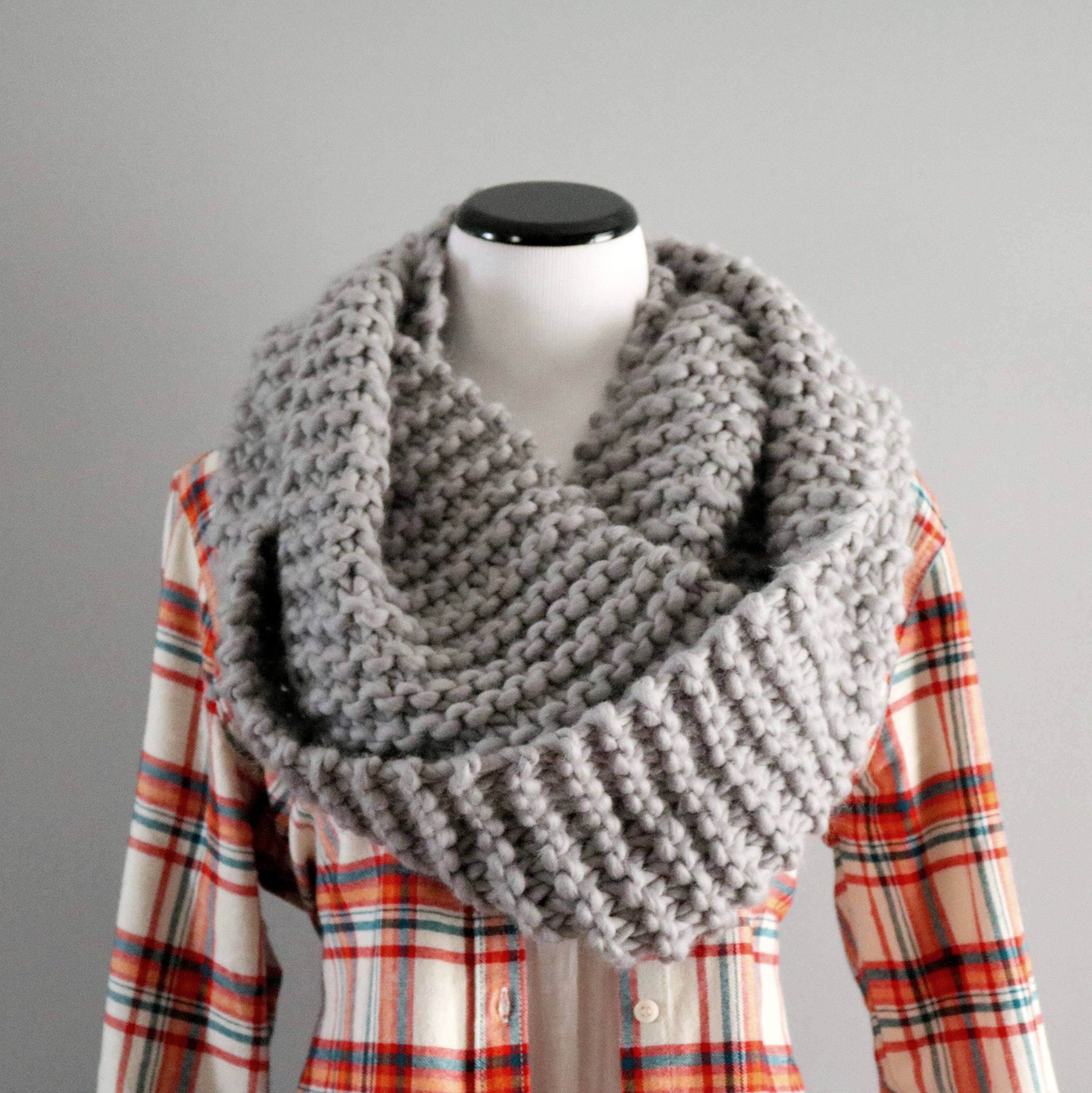 clothes monochrome scarf infinity holiday kids il trendy baby grey check plaid christmas buffalo fullxfull p