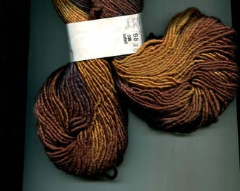 Lorna's Laces Lion and Lamb Yarn, Color Nos. 105, 64, 305, 112, and 74 New Silk and Wool