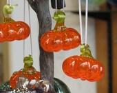 Pumpkin Ornament, Transpa...