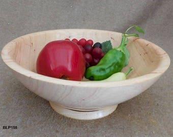 Wonderful Pecan Pedestal Serving Bowl